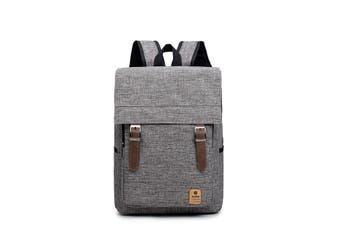 Men Women Casual Canvas Laptop Backpack Travel Rucksack Student Shoulder Bags
