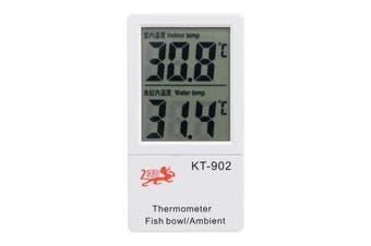 Digital LCD Aquarium Marine Fish Tank Water Thermometer Indoor Thermometer