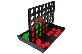 2Set Connect In A Row 4 In A Line Board Game Toy Set Backgammon Kids Child Educational Toys Gift Family Fun