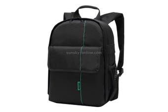 DL-B013 Portable Waterproof Scratch-proof Outdoor Sports Backpack Camera Bag Phone Tablet Bag for GoPro, SJCAM, Nikon, Canon, Xiaomi Xiaoyi YI, iPad, Apple, Samsung, Huawei, Size: 26.5 * 12.5 * 33 cm(Green)