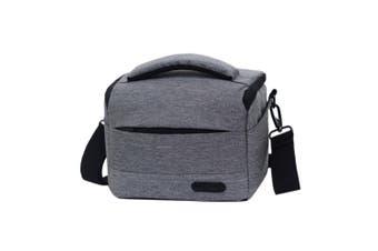 Waterproof DSLR Camera Bag for Nikon Canon SONY Panasonic etc Camera, Size:Large(Gray)