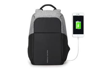 Multifunction USB charging Men 15inch Laptop Backpack