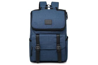 Universal Multi-Function Canvas Laptop Computer Shoulders Bag Leisurely Backpack Students Bag