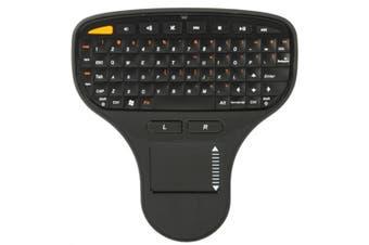 N5903 2.4GHz Mini Wireless Keyboard with Touchpad & USB Mini Receiver, Size: 137 x 125 x 28mm