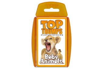 Top Trumps Baby Cutest Animals Educational Card Game 6y+ Family/Kids/Adult Toy