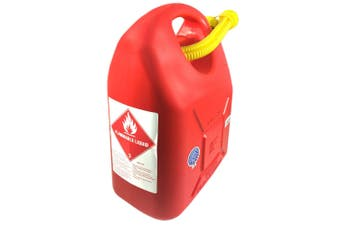 20L Fuel Container for Petrol/Fuel/Diesel/Kerosene Storage/Can Heavy Duty Red