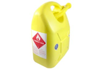 20L Fuel Container for Petrol/Fuel/Diesel/Kerosene Storage/Can Heavy Duty Yellow