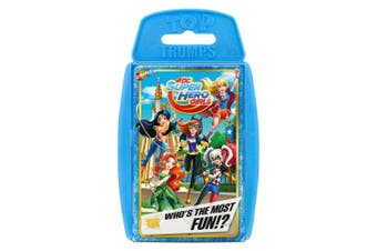 Top Trumps DC Super Hero Girls Educational Card Game 6y+ Family/Kids/Adult Toy