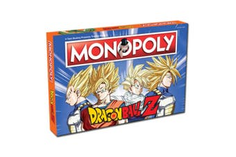 Monopoly Dragon Ball Z Board Game 8y+ Family/Kids/Adult Play Cards/Money/Toy