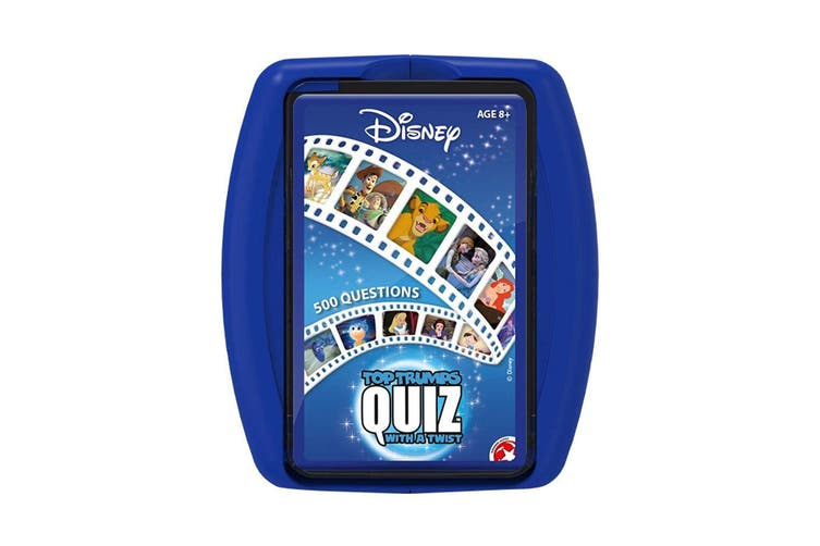 Top Trumps Disney Quiz/Trivia Game/Card 500 Questions 8y+ Family/Kids/Adult Toy