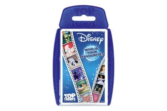 Top Trumps Disney Classic Animation Educational Card Game 6y+ Family/Kids 6y+