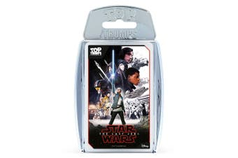 Top Trumps Star Wars The Last Jedi Educational Card Game 6y+ Family/Kids/Adult