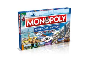 Monopoly Kids/Family Australian Gold Coast Edition Property Trade Board Game 8y+