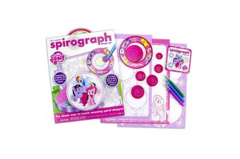 Spirograph My Little Pony Tin Pad Design Set Creative/Drafting/Drawing/Art Craft
