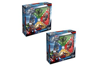 2PK Marvel Avengers Press O Matic Kids/Children 3y+ Adult/Family Board Game Toys
