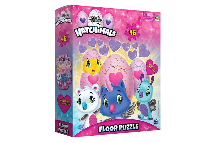 2x 46pc Hatchimals Floor Jigsaw Puzzle Game Kids/Child Educational Toy 3y+ w/Box