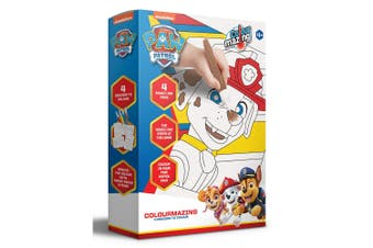 Colour Mazing Paw Patrol w/ Magic Ink Pens Kids/Children Interactive Art/Crafts