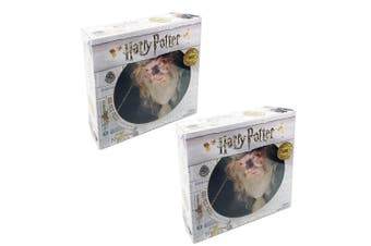 2x 1000pc Harry Potter Dumbledore Face 69cm Jigsaw Puzzle Kids 8y+ Toy/Game