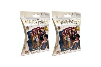 2x 36pc Harry Potter Snap Playing Deck Card Educational Game/Toys Kids/Child 3y+