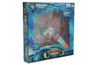 Dream Works How To Train Your Dragon 3 Press O Matic Board Game Play Kids 3y+