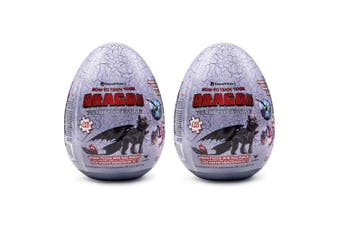 2x 46pc How To Train Your Dragon The Hidden World Egg Jigsaw Puzzle Toy Kids 4y+