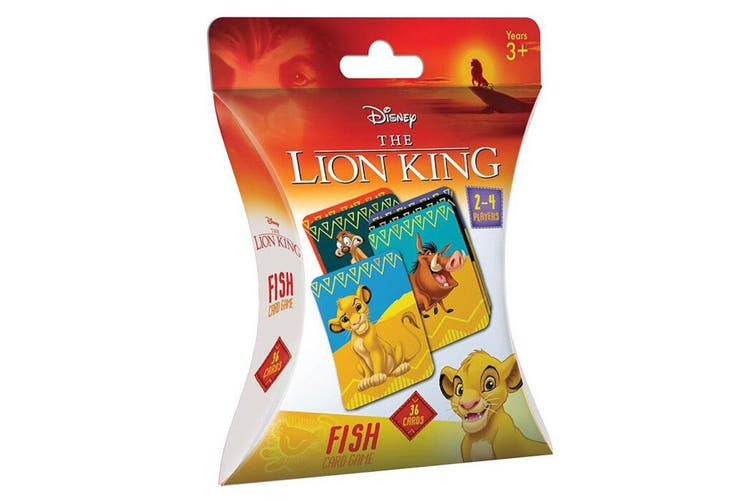 36pc Lion King Fish Playing Card Memory Educational Game Kids/Children Toys 3y+
