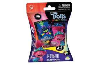 36pc Trolls Fish Playing Card Memory Educational Game Kids/Children Toys 3y+