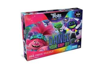 300pc Trolls World Music 45.5 x 60.5cm Kids Jigsaw Puzzle Dance Your Amp Off 6y+