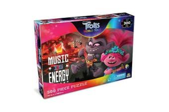 300pc Trolls World Music 45.5 x 60.5cm Kids Jigsaw Puzzle Music Is Energy 6y+