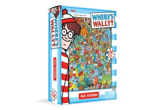 48pc Where's Wally Jigsaw Puzzle Kids/Children 3y+ Educational Toy Old Friends