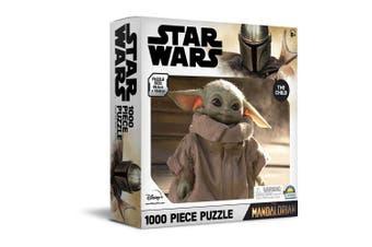 1000pc Star Wars The Mandalorian 68.5 x 50.5cm Kids Jigsaw Puzzle Baby Yoda 8y+