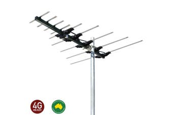 Matchmaster Outdoor UHF/VHF TV Antenna Digital/Australian Home/House/HD/SD/4G