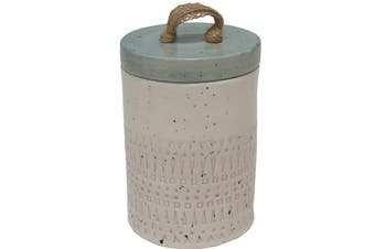 Ava Pottery Stoneware 17cm Canister/Container Storage w/ Lid & Seal Home Decor