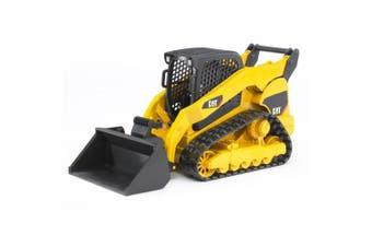 Bruder 25cm 1:16 CAT Caterpillar Compact Track Loader Excavator Tractor Kids Toy