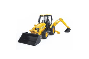 Bruder 1:16 34cm JCB MIDI CX Backhoe Loader Construction Vehicle Kids Toys 3y+