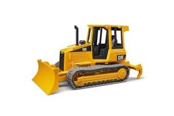 Bruder 30cm 1:16 CAT Caterpillar Track-Type Tractor w/Ripper Excavator Kids Toy