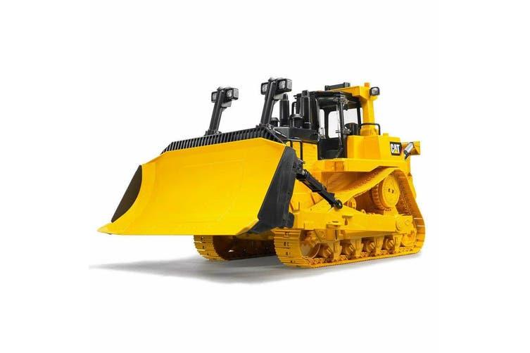 Bruder 1:16 Kids Caterpillar Large Construction Truck Bulldozer w/ Ripper Yellow
