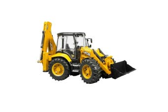 Bruder 1:16 40cm JBC 5CX Eco Backhoe Loader Construction Vehicle Kids Toys 4y+