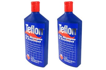 2PK Teflon Car Shampoo Treatment 500ml Vehicle Wash/Soap/Polish Clean/Protection