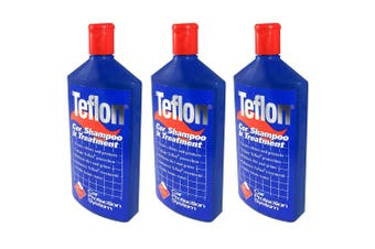 3PK Teflon Car Shampoo Treatment 500ml Vehicle Wash/Soap/Polish Clean/Protection