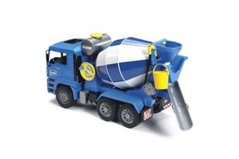 Bruder 46cm 1:16 MAN TGA Construction Cement Mixer Truck w/Bucket  Kids Toy