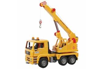 Bruder 43cm 1:16 Tele-Crane TC 4500 Construction Lorry/Truck Kids Toys 3y+ YEL