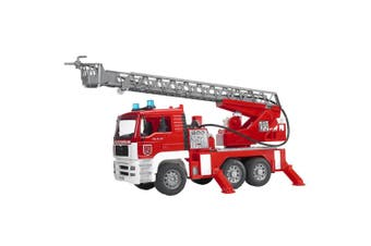 Bruder 1:16 47cm Man TGA Fire Engine Truck w/Water Pump/Light/Sound Kids 4y+ Toy