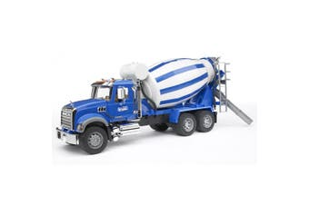Bruder 1:16 Mack Granite Construction Cement Mixer Truck Kids 4y+ Vehicle Toy BL