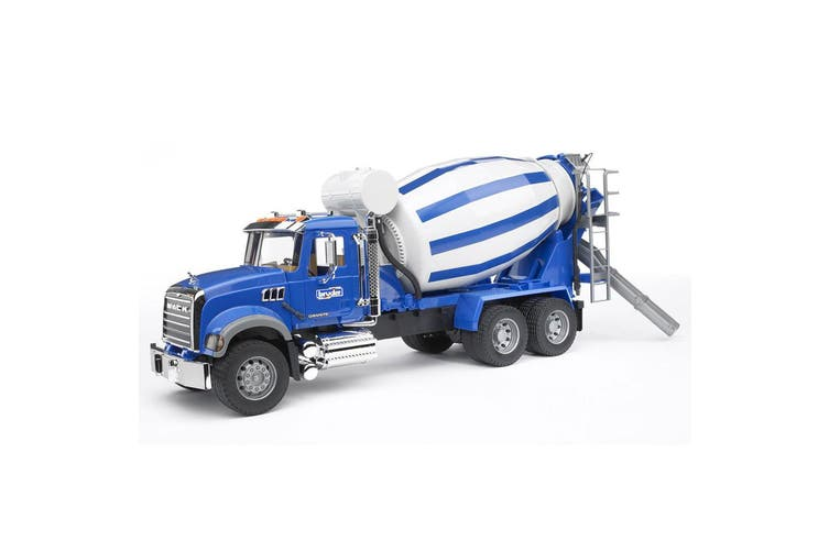 Bruder 1:16 Mack Granite Construction Cement Mixer Truck Kids 4y+ Vehicle Toy BL