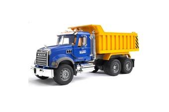 Bruder 53cm 1:16 MACK Granite Tip Construction Truck w/Tray Kids Toy 3yr+ Blue