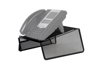 Black Phone Stand Holder for Telephone/Desk/Office/Home/Landline/Uniden/Avaya