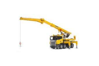 Bruder 60cm 1:16 Scania Truck R-Series 152cm Liebherr Crane/Light/Sound Kids Toy