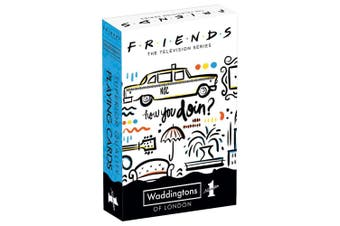 Waddingtons of London Friends TV Series Playing Cards Games Kids/Family/Adults