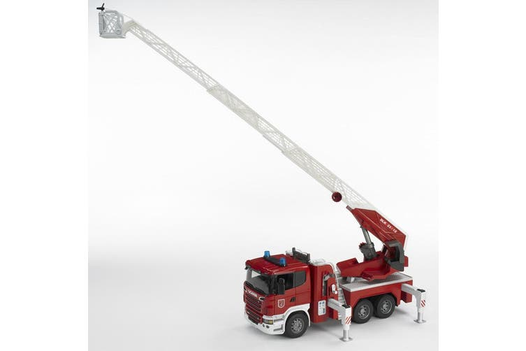 Bruder 1:16 59cm Scania R-Series Fire Engine Truck w/Ladder/Water Pump Kids 4y+